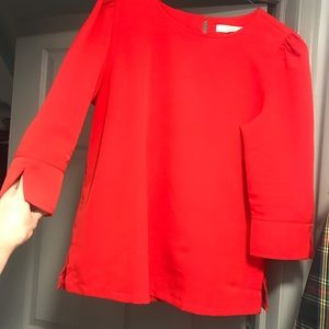 Red Large LOFT Top